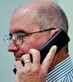 William on Phone